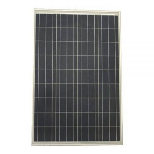 100W SOLAR PANEL FOR 12V BATTERY CHARGING RV, BOAT, OFF GRID SOLAR PANEL FRONT
