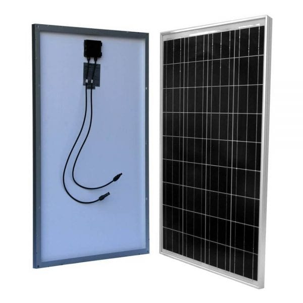 100W SOLAR PANEL FOR 12V BATTERY CHARGING RV, BOAT, OFF GRID SOLAR PANELS