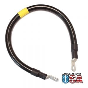 "18"" 2/0 AWG BLACK BATTERY INTERCONNECT CABLE"