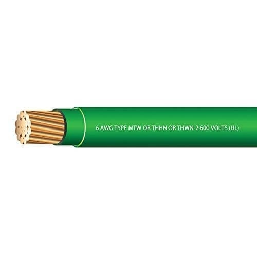 #6 Green THHN Wire