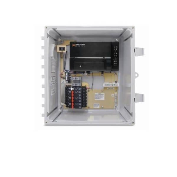 ENPHASE, X-IQ-AM1-240-B M, AC COMBINER BOX WITH IQ ENVOY GATEWAY, 60A, 3X 20A BREAKERS, WITH SOLAR CT
