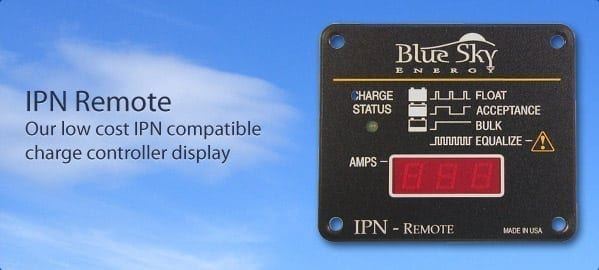 Blue Sky Energy IPNREM Remote Display