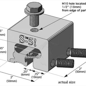 S-5 T Clamp