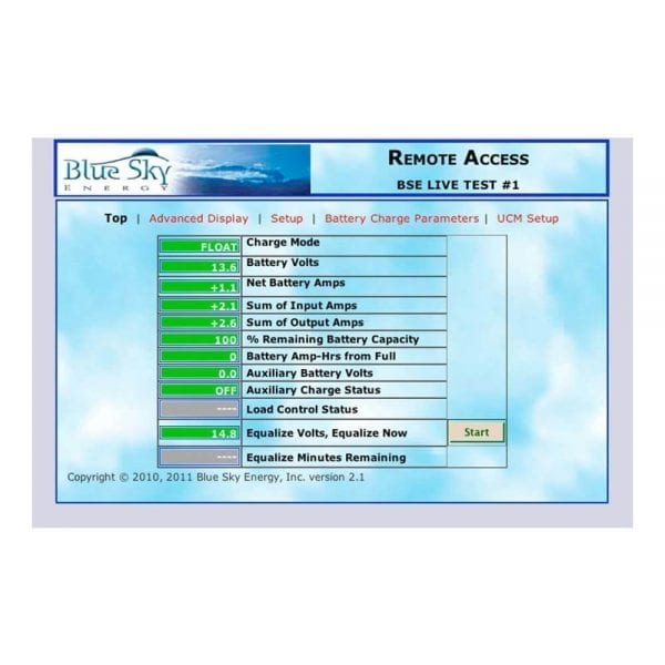 BLUE SKY UCM COMMUNICATION BRIDGE AND GATEWAY FOR IPN CONTROLS SCREENSHOT 1