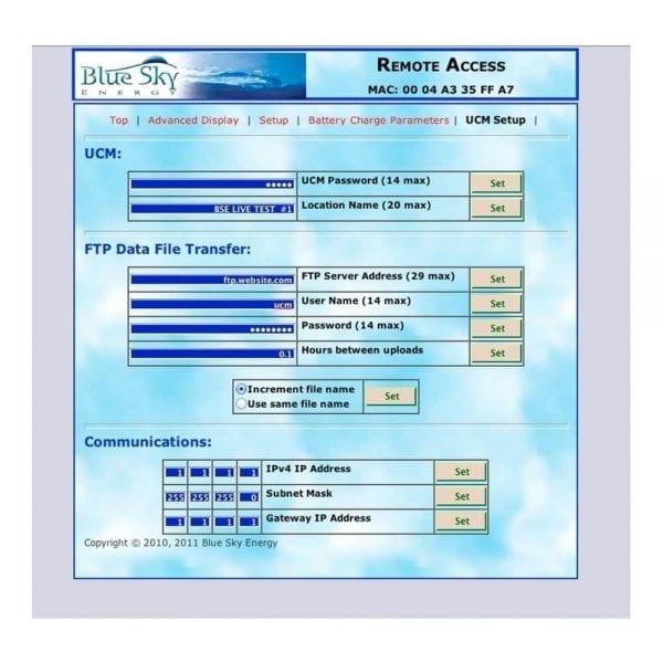 BLUE SKY UCM COMMUNICATION BRIDGE AND GATEWAY FOR IPN CONTROLS SCREENSHOT 4