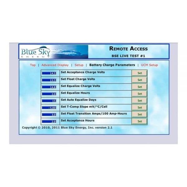BLUE SKY UCM COMMUNICATION BRIDGE AND GATEWAY FOR IPN CONTROLS SCREENSHOT 5