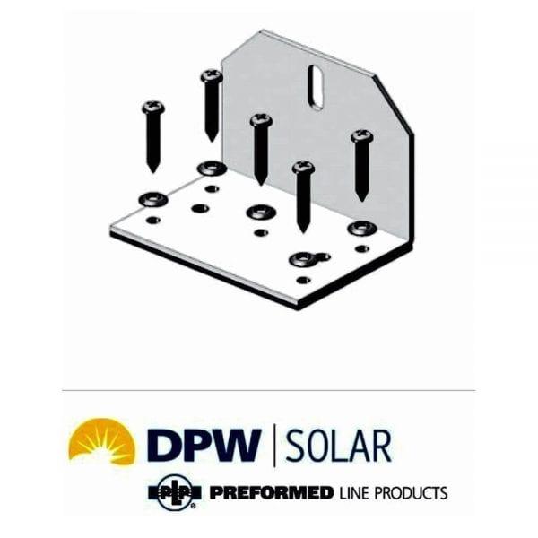 EASY FEET SOLAR MOUNTING L BRACKET PEF-1.5 BY DPW SOLAR 3