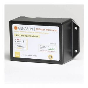 GENASUN GVB-8-PB-36V-WP MPPT CONTROL VOLTAGE BOOST CHARGE CONTROL 36VDC 8A WATERPROOF