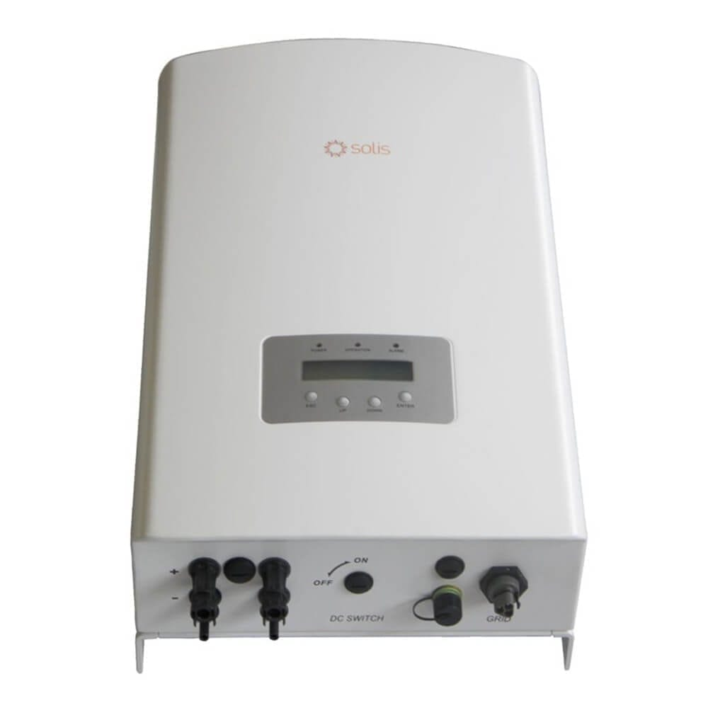 GINLONG SOLIS-3 6K-2G-US NON-ISOLATED STRING INVERTER 3600W 240/208