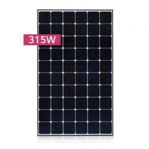 LG LG315N1C-G4 PV MODULES 315W BLACK FRAME MC4-TYPE FRONT