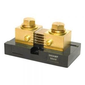 MIDNITE SOLAR DC AMMETER SHUNT 500 AMP 50 MILLIVOLT 2