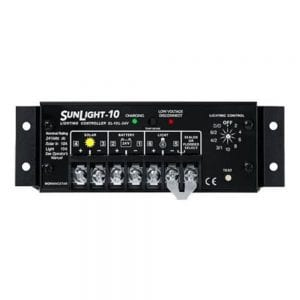 MORNINGSTAR SUNLIGHT SL-10L-24V SOLAR LIGHTING CONTROLLER WITH LVD