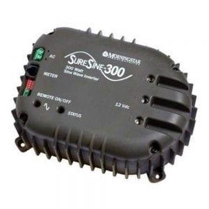 MORNINGSTAR SURESINE BATTERY INVERTER 300W 115VAC 60HZ NO TRANSFER 12VDC SINEWAVE OFF GRID INTERNAL BTS SI-300-115V-UL