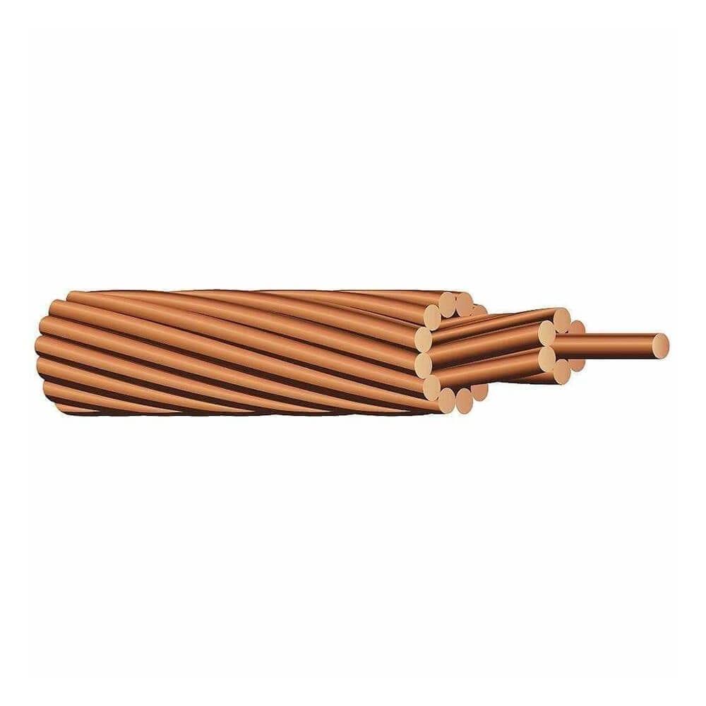 Solar Panel Ground Wire Stranded Bare Copper