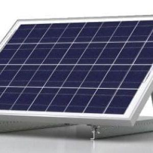 Solar panel tilt mount