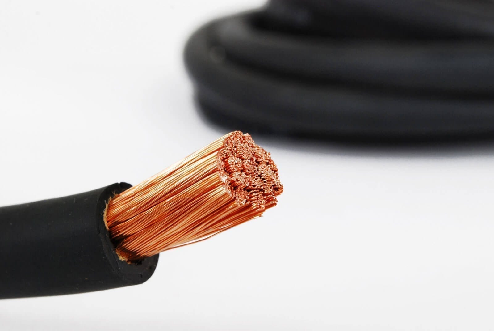 Welding Cable, 2/0 Gauge Wire, 100ft / 30.5m Long - Global Solar Supply