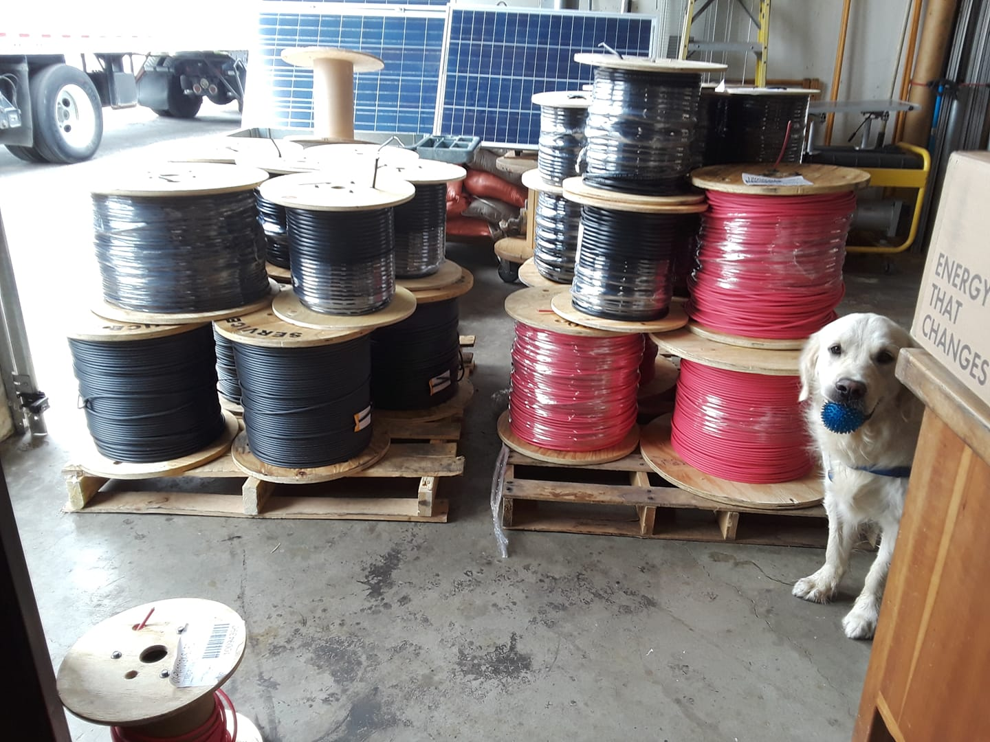 tucker and 60k solar cable