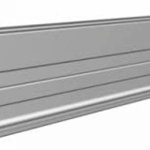 Power Rail is an engineered profile extrusion made from Series 6000 structural aluminum. Mill finish is standard