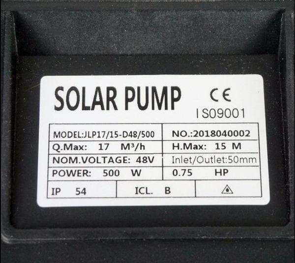 pool 500W solar pump1_Globalsolarsupply