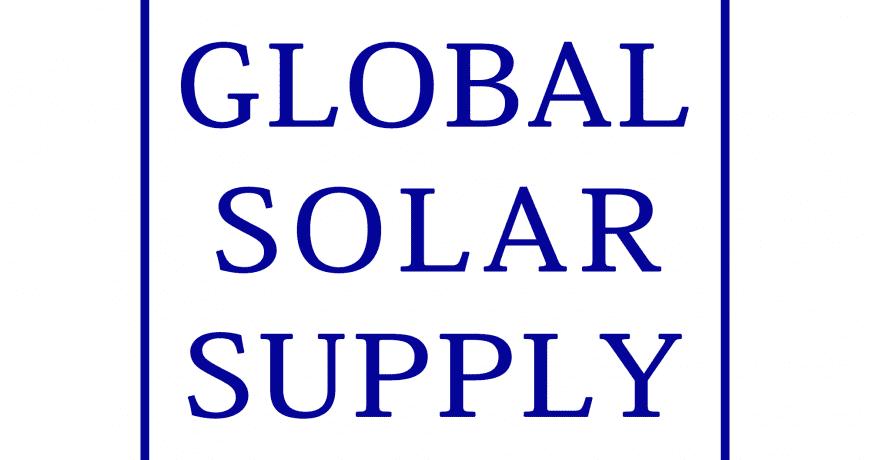 Global Solar Supply Squared Logo