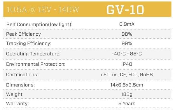 Genasun-GV-10-Pb-12V-10-Amps-12-Volts-140-Watts-MPPT-Solar-Charge-Controller-for-Lead-Acid-B01MST881K-5