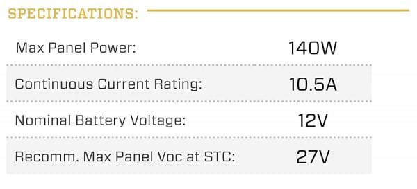 Genasun-GV-10-Pb-12V-10-Amps-12-Volts-140-Watts-MPPT-Solar-Charge-Controller-for-Lead-Acid-B01MST881K-6