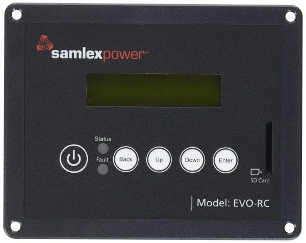 Samlex-Solar-EVO-RC-Remote-Control-for-Evolution-Series-InverterCharger-B00VKNFC7W
